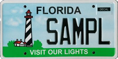 Florida Plate Blogging