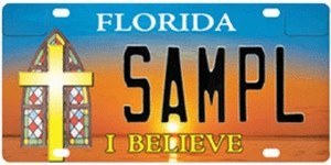 Florida Plate Blogging